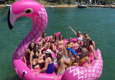 Bachelorette Party on Lake Tahoe